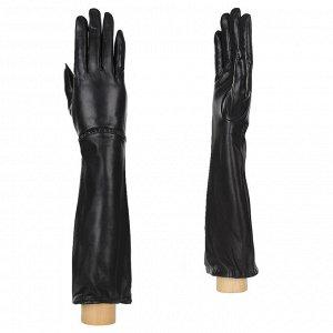 Перчатки, кожа, FABRETTI 15.17-1 black