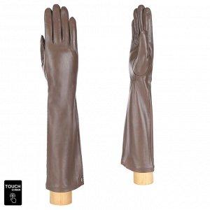 Перчатки, натуральная кожа, Fabretti S1.42-10s taupe