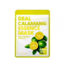 Farm Stay Real Calamansi Essence Mask Тканевая маска с витаминами, 23 мл