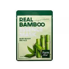 Farm Stay Real Bamboo Essence Mask Тканевая маска с экстрактом бамбука, 23 мл