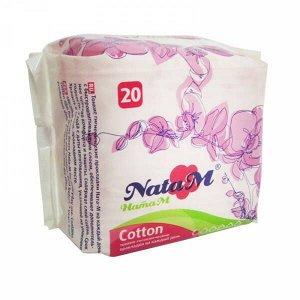 "Гиг. прокладки ""NataM Ult.soft"" ежеднев. 20 шт./пэт"
