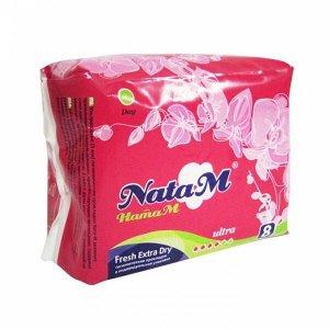 """Гиг. прокладки """"NataM Extr.dry"""" дневн. 8 шт."""