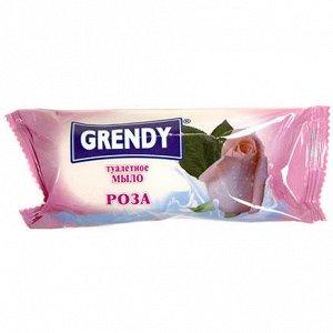 """Мыло туалетное Гренди """"Роза"""" 75 гр."""