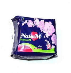 "Гиг. прокладки ""NataM Extr.soft"" ночн. 8 шт."