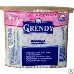 """Ватные палочки """"Гренди"""" полиэтилен 100 шт."""