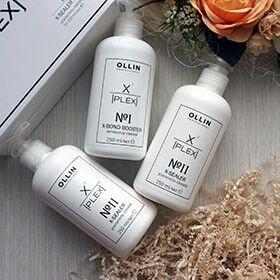 #OLLIN PROFESSIONAL - Акция -30% + Новая линейка — X-plex — комплекс для сохранения здоровья волос при осветлен — Для волос
