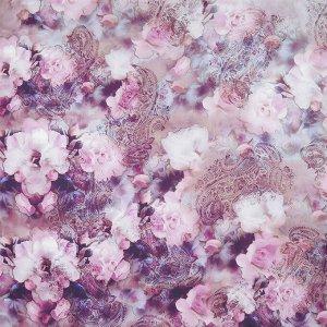 Платок, 100% натуральный шелк, * LEO VENTONI CXW195-5