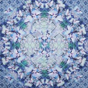 Платок, 100% натуральный шелк, * LEO VENTONI CXW194-11