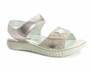Туфли открытые IMAC, цвет розовый, материал кожа нат