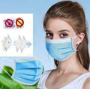 Защитные маски в коробке