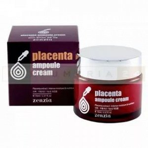 Крем для лица с плацентой Zenzia Placenta ampoule cream 70 мл
