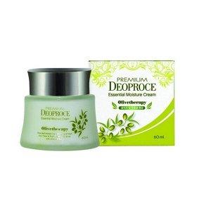 Крем для лица с экстрактом оливы Deoproce Olive Therapy Essential Moisture Cream 100 мл./ №1495, ,