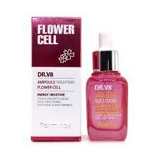 Farm Stay DR-V8 Ampoule Solution Flower Cell Увлажняющая сыворотка с фитостволовыми клетками 30 мл