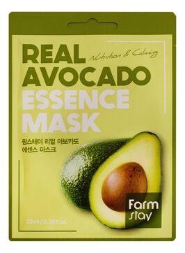 Farm Stay Real Avocado Essence Mask  Тканевая Маска для лица с экстрактом авокадо