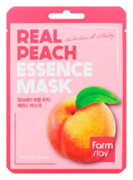 Farm Stay Real Peach Essence Mask Тканевая Маска для лица с экстрактом персика