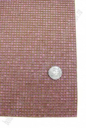 Термостразы с бусинками на листе 40*24 см (SF-1177) розовый