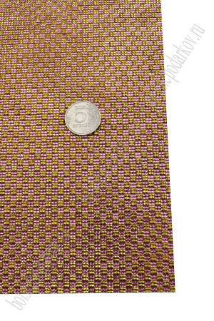 Термостразы на листе 40*24 см (SF-1179) розовый/золото
