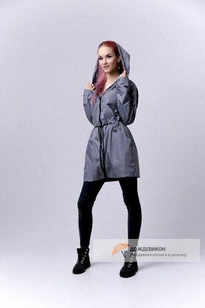"""Продам или обмен на размер меньше! Удлиненная куртка дождевик """"Парка"""", цвет красивый зеленый"""