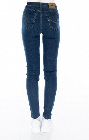 Зауженные синие джинсы размер 30