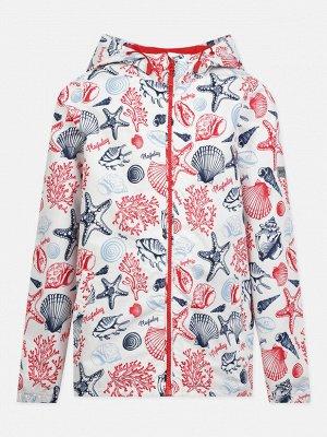 Куртка текстильная для девочек (ветровка)