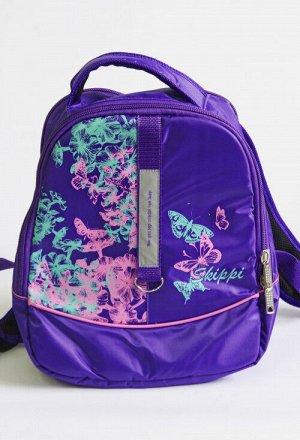 Рюкзак 002 сиреневый розовый Состав: Описание: Детский рюкзак на молнии, с принтом, размер 30*36*12. Отличный вариант для школы. Внутри имееются дополнительные отделения для тетрадей и школьных мелоче