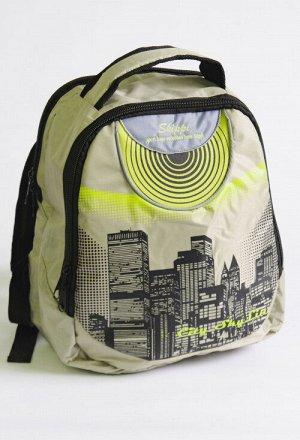 Рюкзак 001 синий олива Состав: 100% полиэстер Описание: Молодежная модель рюкзака с двумя отделениями на молнии, размер 30*33*14. Отлично подойдет для школы, и не только! Внутри имееются дополнительны