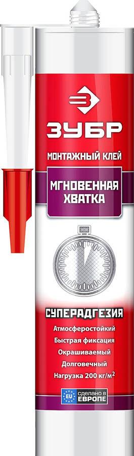 Клей монтажный ЗУБР КМ 400