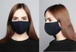 Двухслойные трикотажные маски