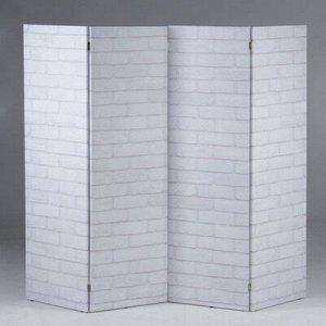 """Ширма """"Кирпичная стена"""", 200 ? 160 см"""