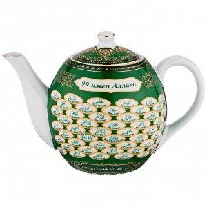 """Заварочный чайник """"99 имён аллаха"""", 1200 мл."""