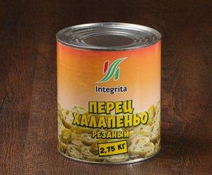 Перец халапеньо маринованный, 2750 гр