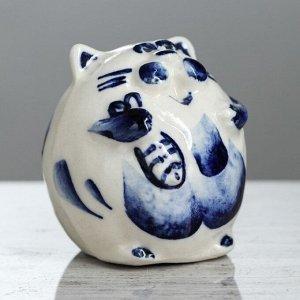 "Статуэтка ""Томас"". белый. синий цвет. 6 см. микс"