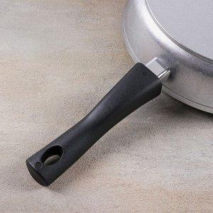 Сковорода со съёмной ручкой, стеклянная крышка, d=28 см, h=65 мм