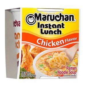 Лапша быстрого приготовления Маручан Инстант Ланч со вкусом курицы - 64g