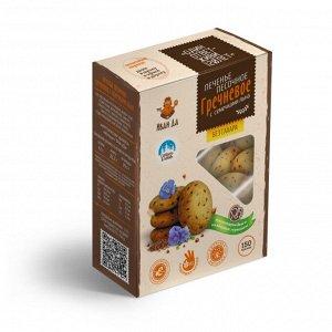 Печенье гречневое песочное на сиропе топинамбура, 150г