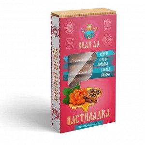 Пастиладка Рябина с корицей и обжаренными семенами конопли, 50г
