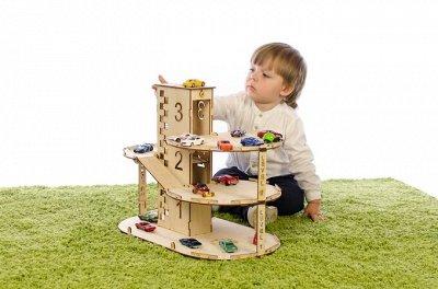 Кукольные домики и детская мебель, румбоксы и конструкторы  — Конструкторы для мальчиков — Деревянные игрушки