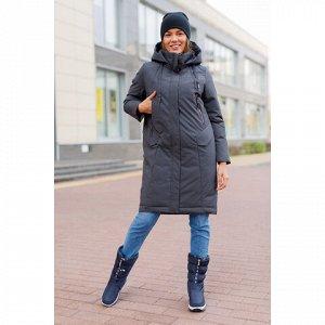 Женская куртка 977 серая