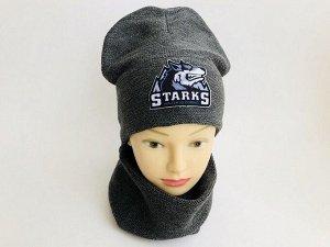 """Детский комплект """"Starks"""" шапка+снуд"""