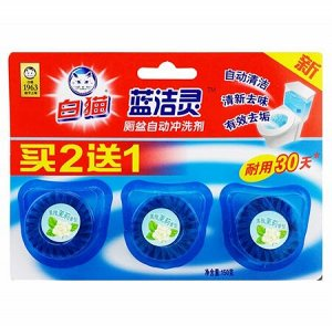 BL002 Таблетки для унитаза Баймао Жасмин 150г (3шт)