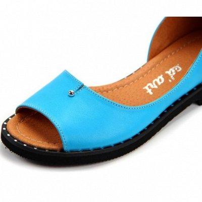 """~ED`ART - Стильная, комфортная обувь. Натуральная кожа. — Босоножки """"на низком ходу"""" — Без каблука"""