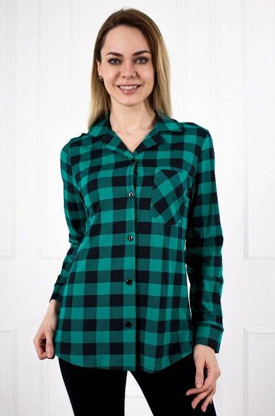 Яркий Трикотаж для всей семьи 57! — Женщинам. Повседневная одежда. Рубашки — Рубашки