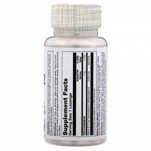 Solaray, Vitamin B-12, Natural Black Cherry, 5,000 mcg, 30 Lozenges