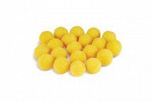 Лимонное Крупное драже желтого цвета с кисло-сладким вкусом. Содержит около 0,2 % аскорбиновой кислоты. Поверхность обсыпана сахарным песком. Цена за 500 гр. Собираем по 16 шт. Срок хранения: 3 месяца
