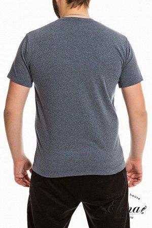 Футболка Мужская футболка выполнена из х/б полотна с лайкрой. Круглый вырез горловины, короткие рукава. Спереди расположен принт. Размерный ряд: 44-62. Состав Хлопок 95% Лайкра 5% Артикул 12005Па Базо