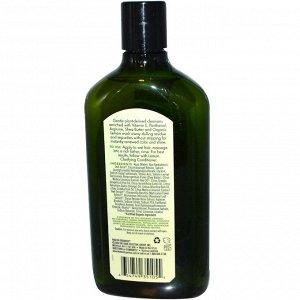 Avalon Organics, Очищающий шампунь с ароматом лимона, 325 мл (11 жидких унций)