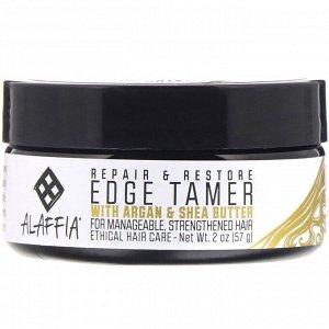 Alaffia, Repair & Restore, Edge Tamer with Argan & Shea Butter, 2 oz (57 g)