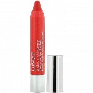 Clinique, Chubby Stick, Intense Moisturizing Lip Colour Balm, Heftiest Hibiscus, .10 oz (.3 g)