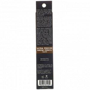 E.L.F., Карандаш для бровей «Суперточное нанесение», серо-коричневый, 0,05 г (0,002 унции)
