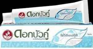 Тайская зубная паста Твин Лотос «Свежесть и Прохлада»
